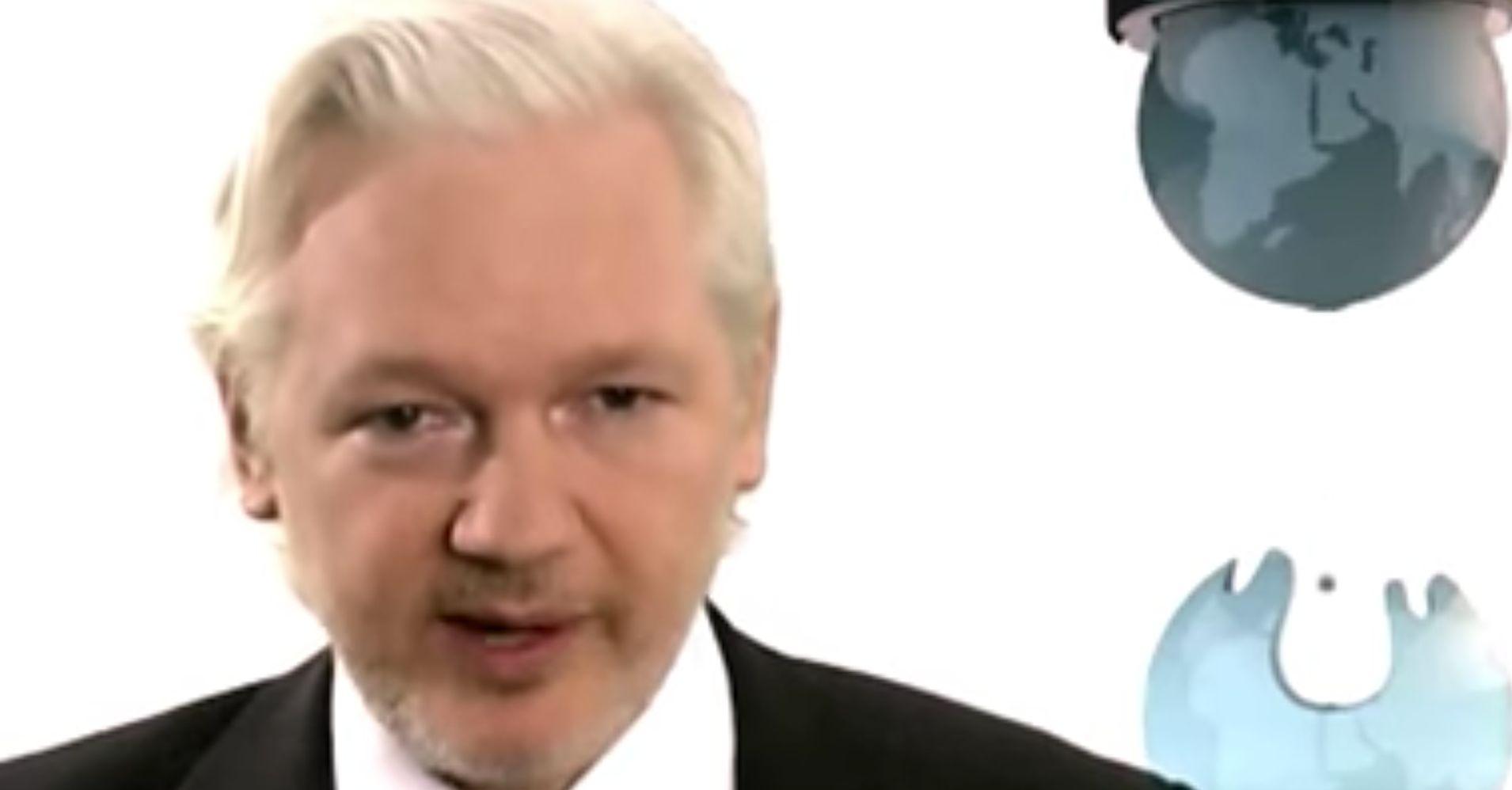 Julian Assange Says Wikileaks Is Working On Hacking Trump's Tax Returns