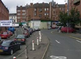 'Wall Collapse' Sees Street Cordoned Off In Glasgow