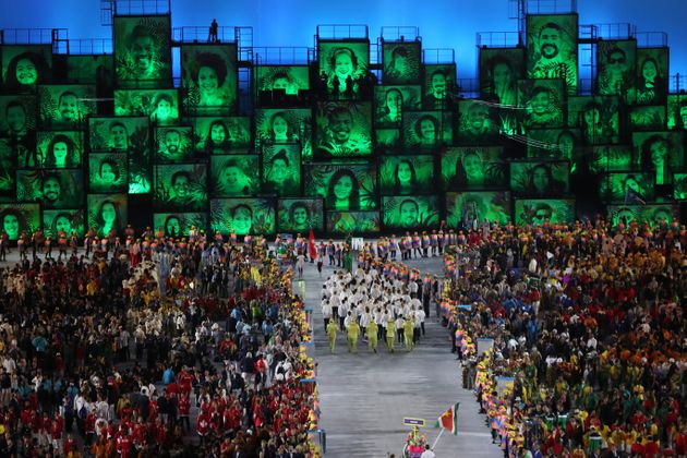 The opening ceremony was quite some spectacle on Friday