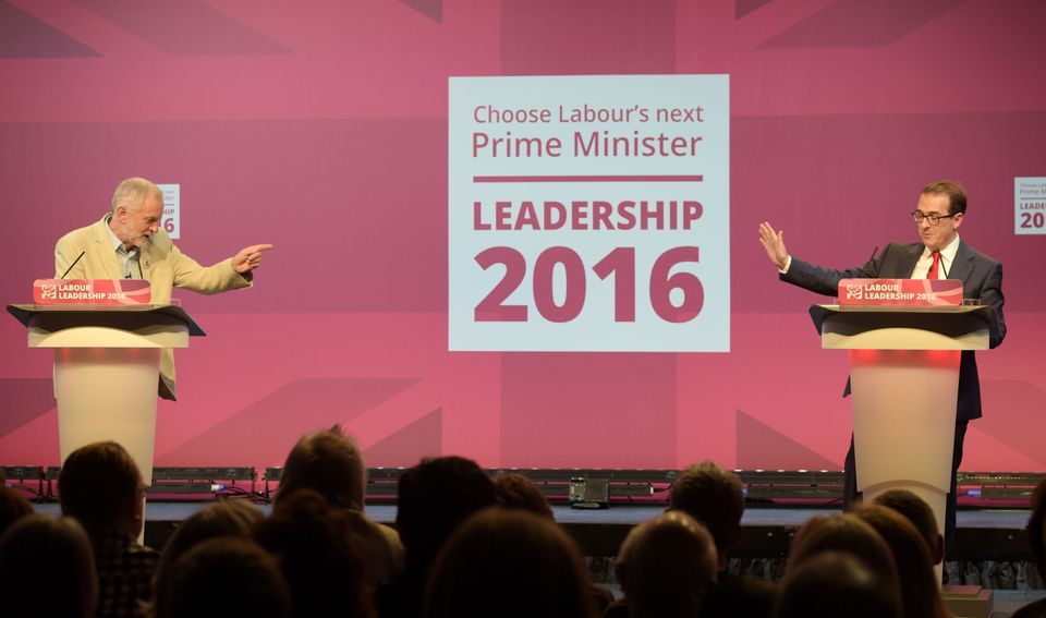Corbyn v Smith in the first hustings in
