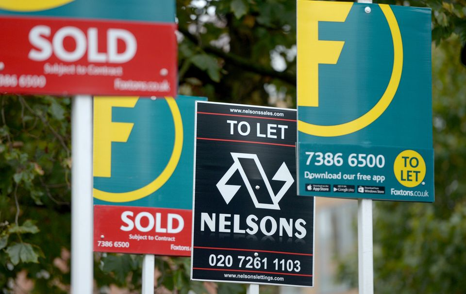 House prices fell 1% in