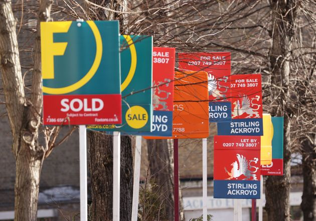 House prices fell 1% last month,