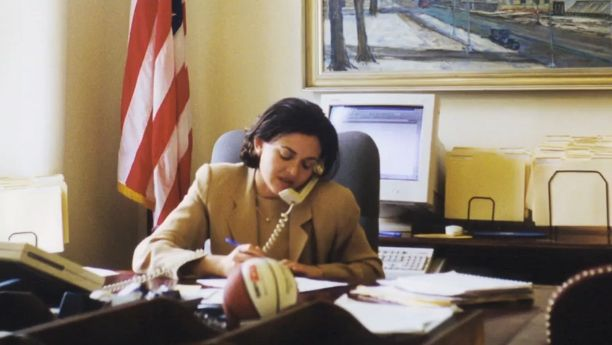 """Sandberg met Summers, her mentor and later employer, at Harvard. <a href=""""http://www.makers.com/moments/larry-summers"""" target"""