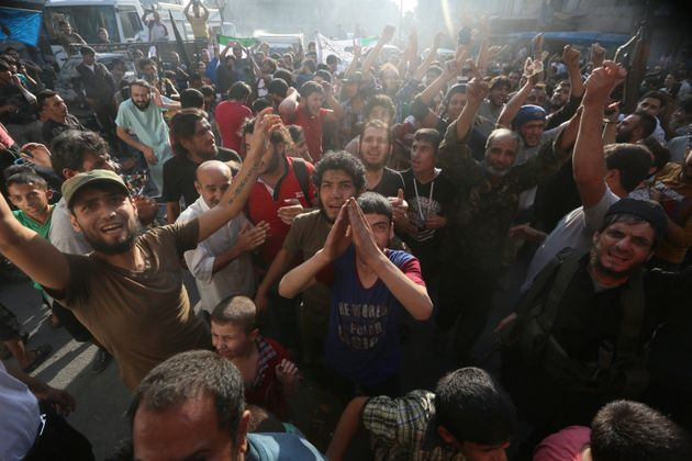 Syrian rebels said they had broken through to besieged opposition-held areas in eastern Aleppo on Saturday....