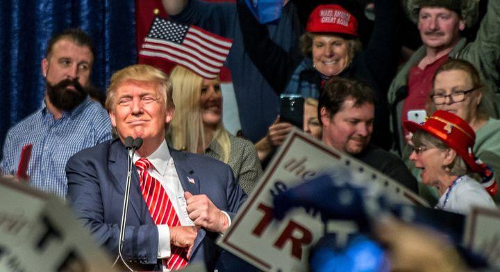 Donald Trump Rally, Reno, NV, January 10, 2016.