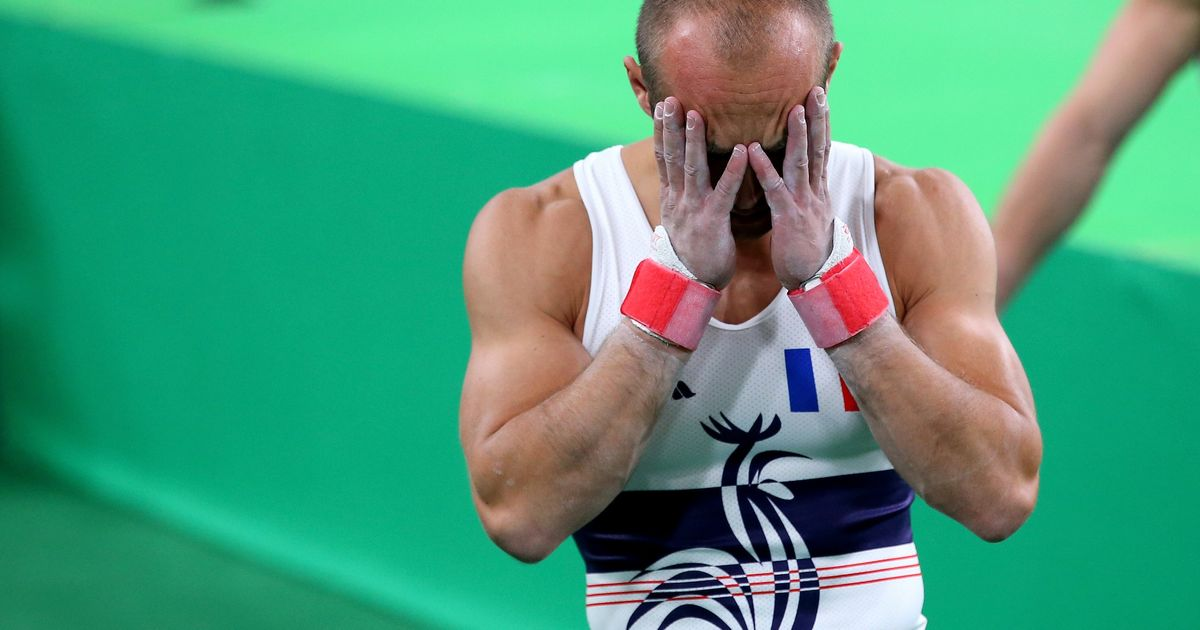 An Olympic Gymnast Just Broke His Leg In The Most Stomach ...
