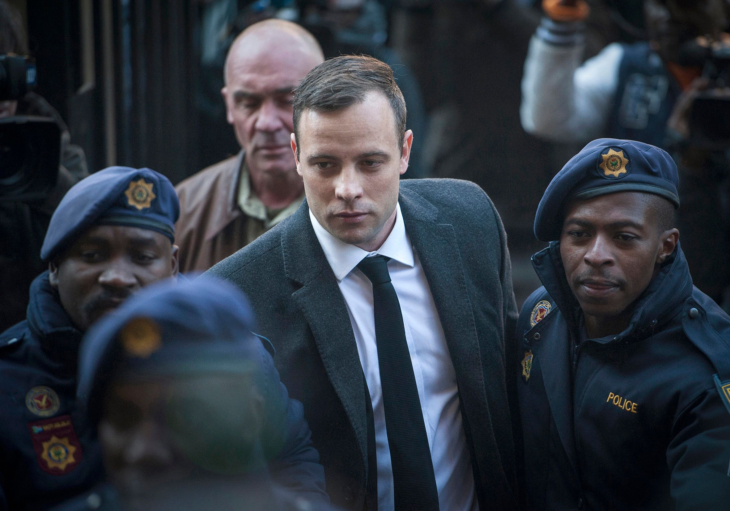 Oscar Pistorius Rushed To Hospital After Sustaining Injuries In