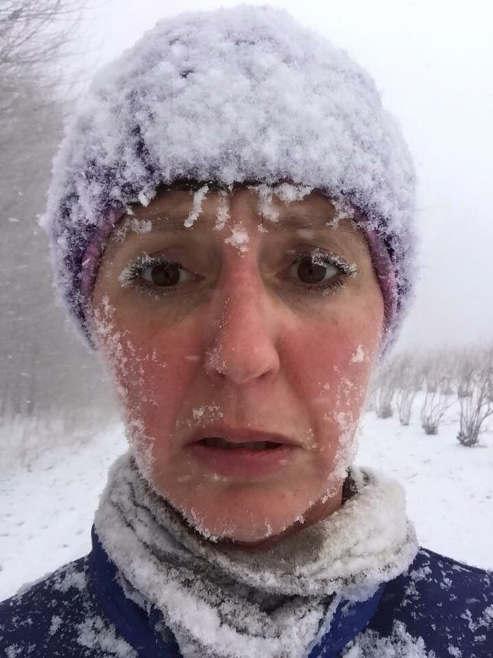 If you've ever run in negative temperatures and driving snow, you know you're legit.