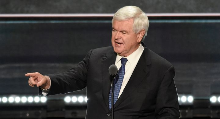 Newt Gingrich is calling it like he sees it.