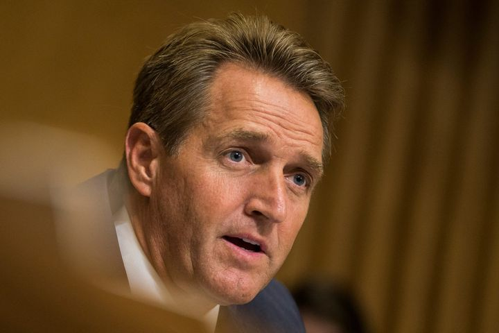Sen. Jeff Flake, a Republican from Arizona, says Trump could lose his state.