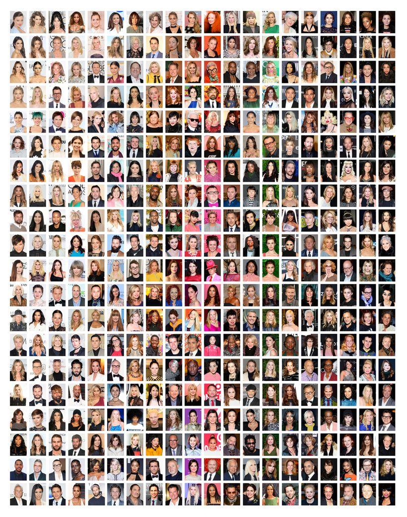 <i>New York Fashion Week Face Book&nbsp;</i>Chromogenic print.&nbsp;
