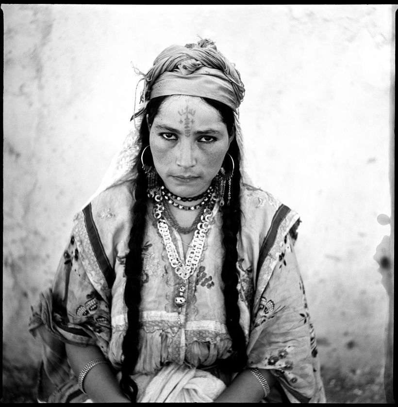 <i>Femmes Algeriennes</i>, 1960&nbsp;Gelatin silver prints (printed 2016). International Center of Photography. Gift of the a