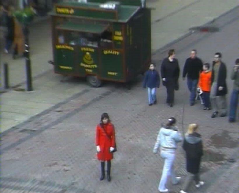 <i>Trust</i> (video still), from&nbsp;<i>Evidence Locker</i>, 2004