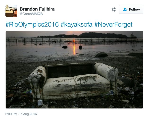 Rio 2016 Olympics Kayak Capsizes After Reportedly 'Hitting A