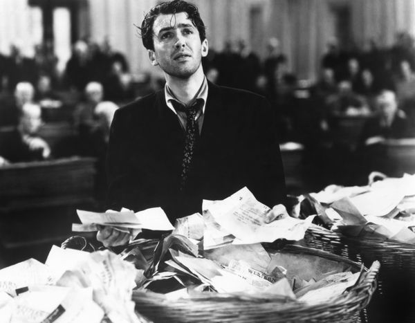 The always-charming Jimmy Stewart plays an idealistic political newcomer determined to make his mark by advoca