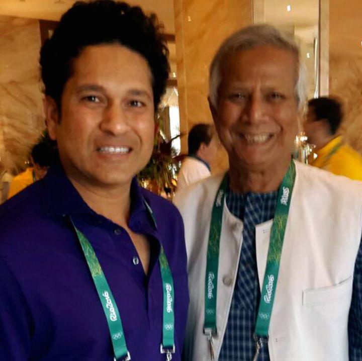 Yunus has invited Sachin Tendulkar to attend the Social Business Day, to be held in Dhaka, Bangladesh on June 28-29 next year