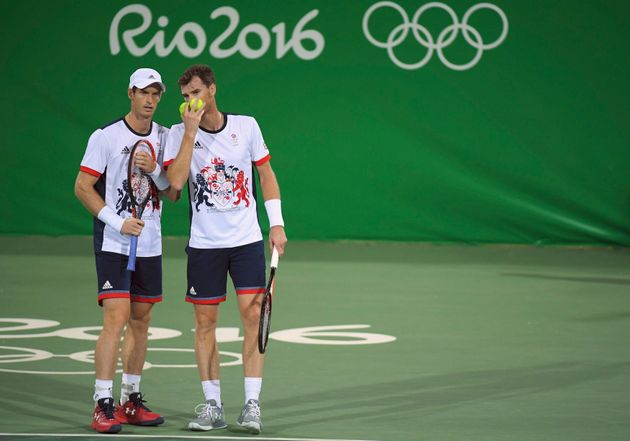 Andy and Jamie Murray: