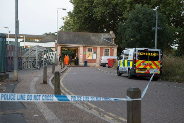 AGatwick Express passenger died after he was struck by another train while leaning out of the