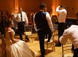 Groom Surprises Bride With Amazing First Dance... That Doesn't Include Her