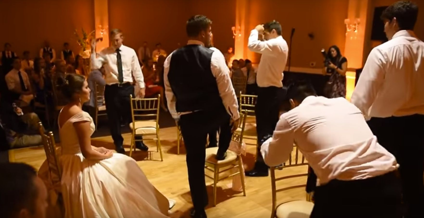 Groom Surprises Bride With Amazing First Dance... That Doesn't Include