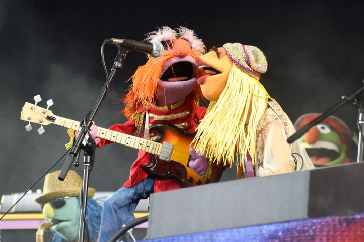 "Zoot, Floyd Pepper, Janice and Dr. Teeth did a great ""live"" show -- for muppets."