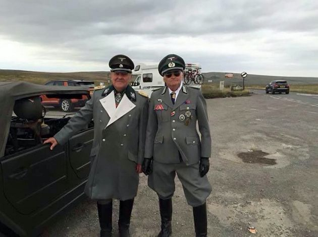 Greater Manchester Police Apologize for Tweeting Image of Men Dressed as Nazis
