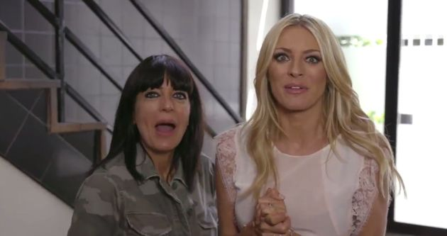 Claudia Winkleman and Tess Daly are VERY excited about the 'Strictly'