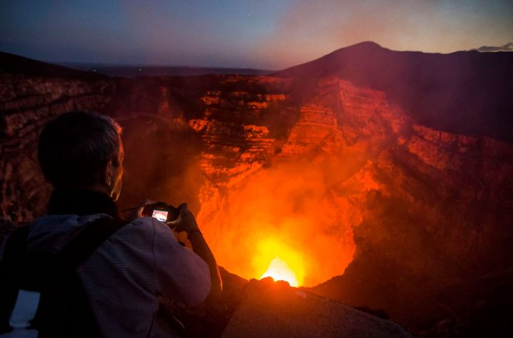 Masaya Volcano is getting hooked up to the web.