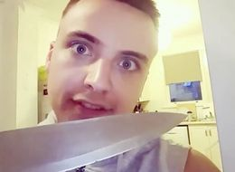 'Hollyoaks' Actor Parry Glasspool Shocks Fans With Knife Video
