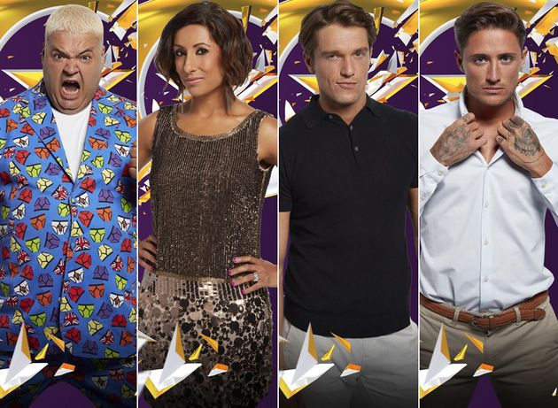 Heavy D, Saira Khan, Lewis Bloor and Stephen Bear all face