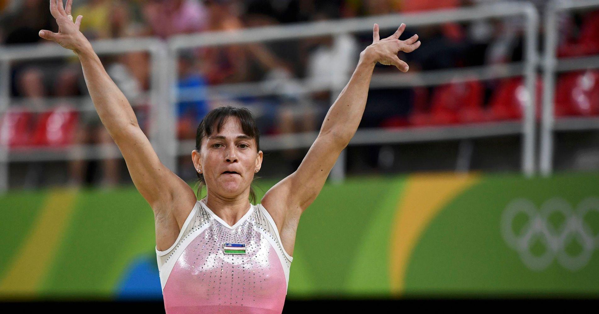 Watch 41 Year Old Gymnast Oksana Chusovitina Slay Her