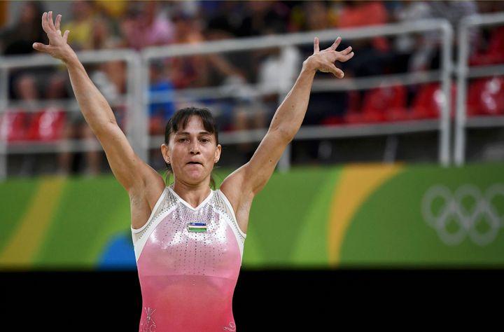 Oksana Chusovitina is 41 years old and a better gymnast than you.