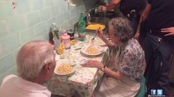 Police Find Lonely Elderly Couple Crying, Make Them Spaghetti