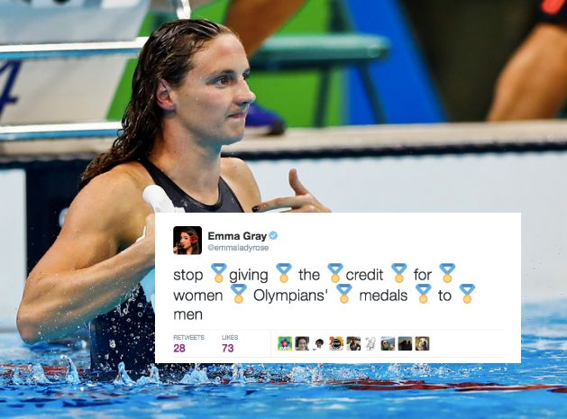 Katinka Hosszu shattered that world record all by herself, thank you very much.