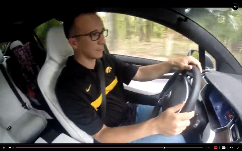 Joshua Neally driveshis Tesla Model X. He suffered a pulmonary embolism behind the wheel last month.