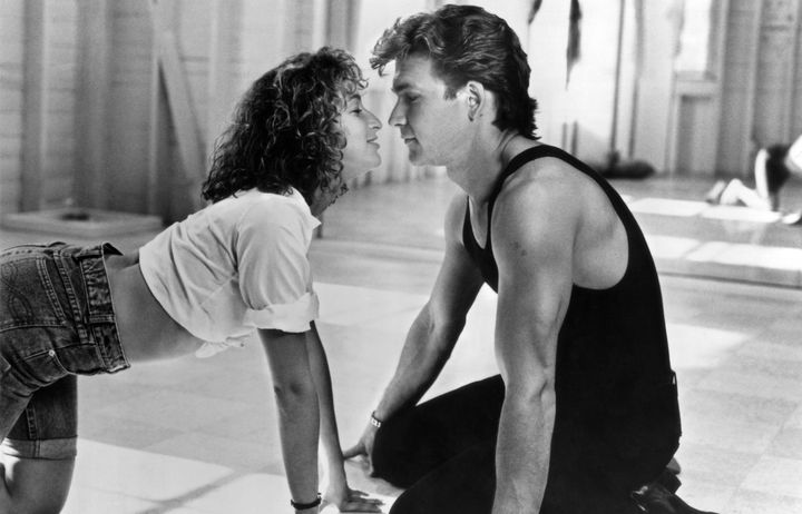 """Jennifer Grey and Patrick Swayze in a scene from """"Dirty Dancing."""""""