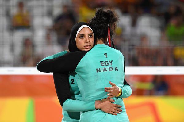 A mid-game hug.
