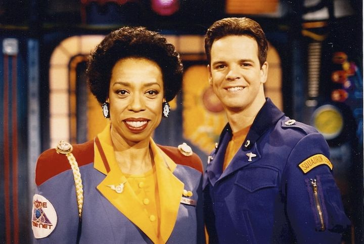 Lynne Thigpen as The Chief and Kevin Shinick as the Squadron Leader. ACME's finest.