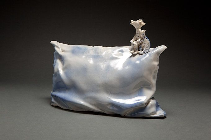 "Coille Hooven, ""Security Pillow,"" 1982"