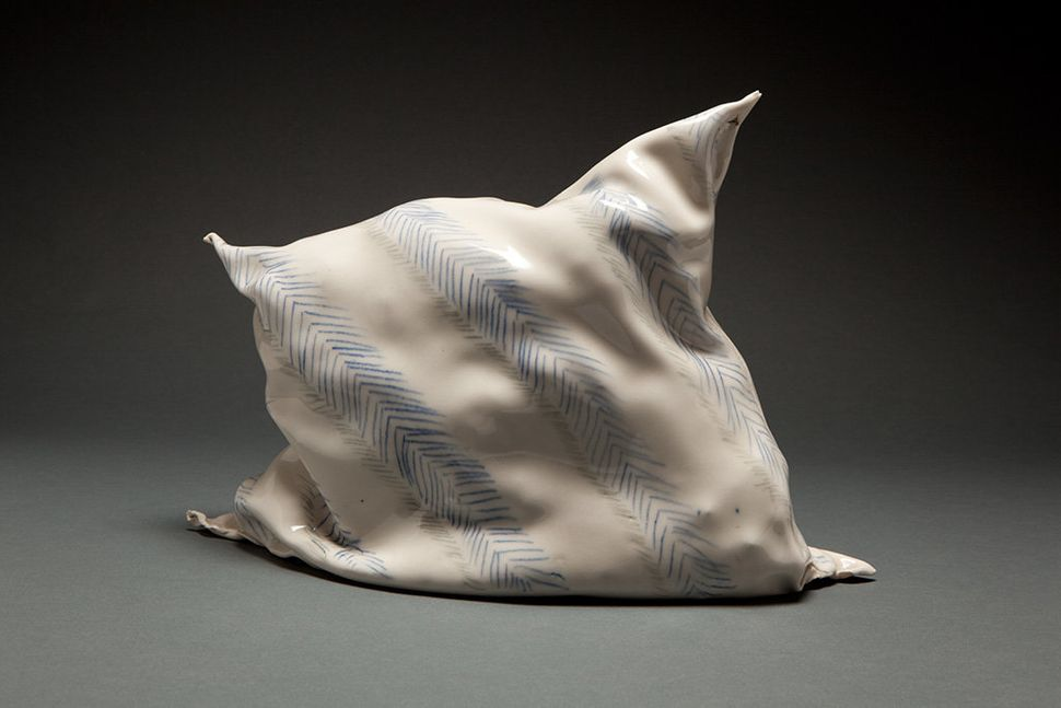 "Coille Hooven, ""Pillow,"" 1982"