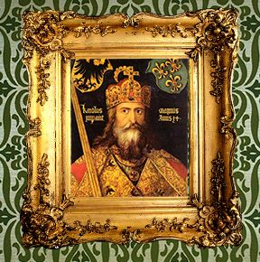 <strong>Emperor Grandpa Charlemagne the Great</strong><br><i>39th great-grandfather</i>