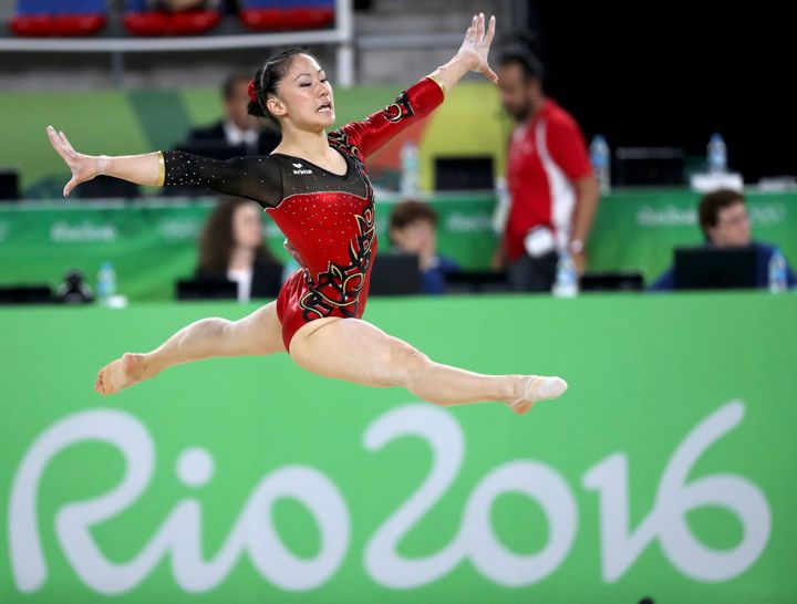 pictures of big butt women gymnasts