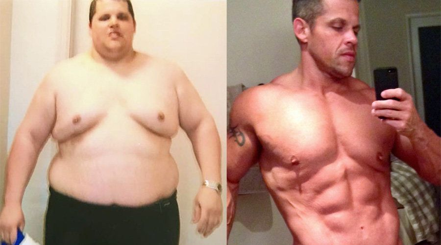 Man Reveals How He Lost 14 Stone In Amazing Body