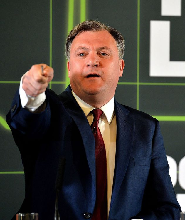 Ed Balls has been confirmed for this year's
