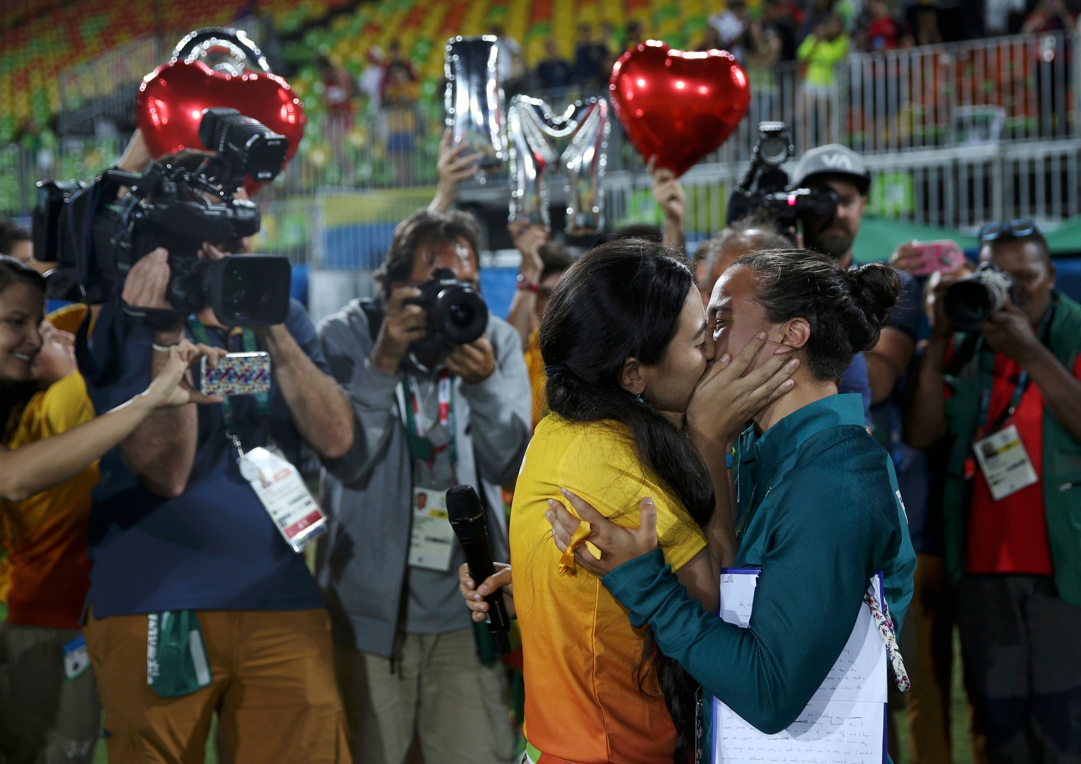 This Engagement At Rio Olympics Reminds Us All That Love