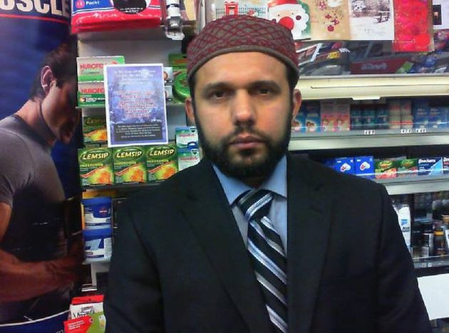 Tanveer Ahmed has been jailed for life for killing Glasgow shopkeeper Asad Shah, pictured