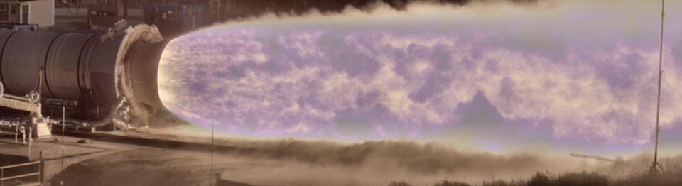 NASA SLS Rocket Test Captured In Stunning Slow Motion Using