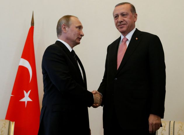 Putin meets with Erdogan