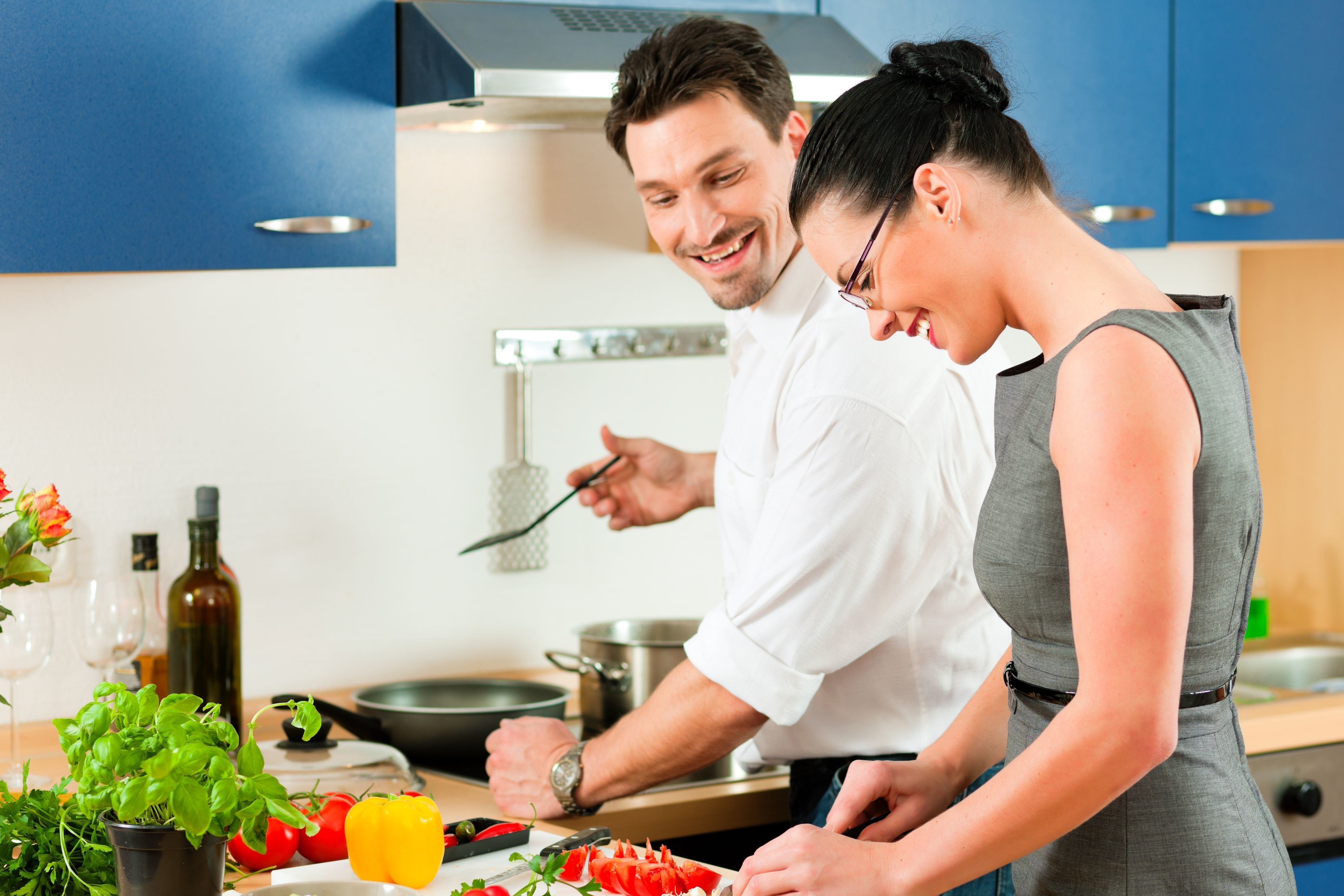 Dating cooking show