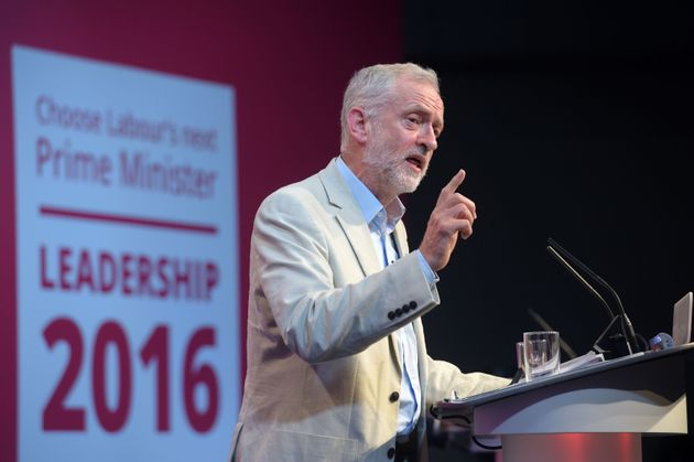 Corbyn said he was 'disappointed' by Watson's